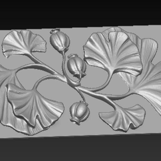 Decorative_Flowers_03.jpg Télécharger fichier OBJ gratuit Modèle 3D de panneau décoratif de fleurs • Design imprimable en 3D, DavidG7