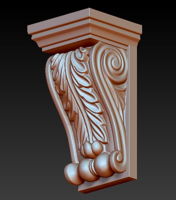 Kit-Architectural_08.jpg Download free STL file Pack Architectural Decorative Corbels 3D Model • 3D printable object, DavidG7