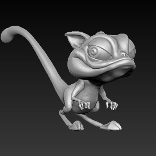 Cgaracter_02.jpg Download free OBJ file Character Kangaroo 3D Model • Object to 3D print, DavidG7