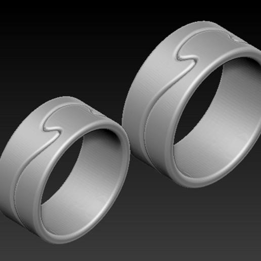 Ring_01.jpg Télécharger fichier OBJ gratuit Modèle 3D des anneaux • Objet à imprimer en 3D, DavidG7