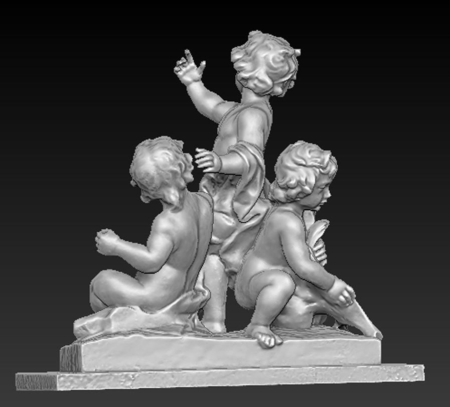 Angel_03.jpg Download free OBJ file Angels Statue 5 3D Model • Design to 3D print, DavidG7