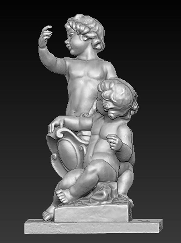 Angel_02.jpg Download free OBJ file Angels Statue 5 3D Model • Design to 3D print, DavidG7