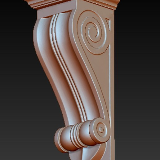 Kit-Architectural_03.jpg Download free STL file Pack Architectural Decorative Corbels 3D Model • 3D printable object, DavidG7