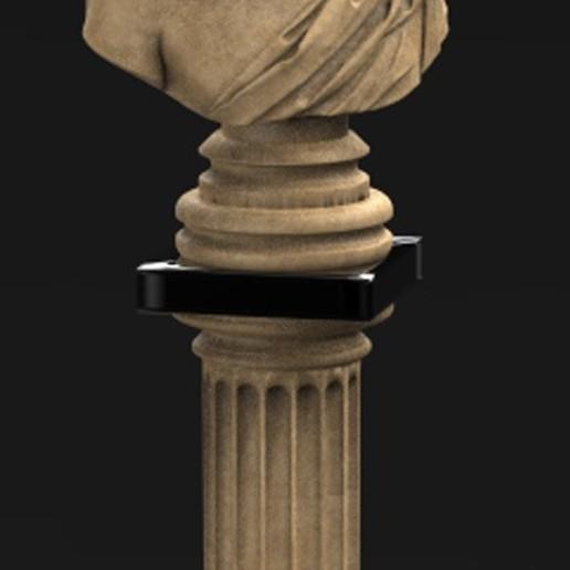 Roman_bust_02_KEY.jpg Download free OBJ file Roman Bust 3D Model • 3D print object, DavidG7