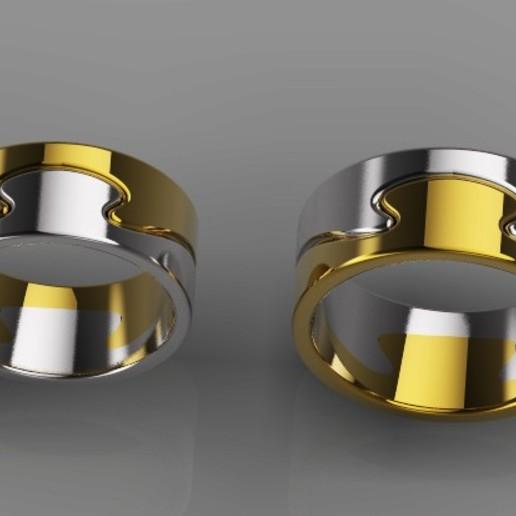 Télécharger fichier impression 3D gratuit Modèle 3D des anneaux, DavidG7