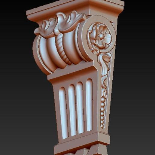 Kit-Architectural_02.jpg Download free STL file Pack Architectural Decorative Corbels 3D Model • 3D printable object, DavidG7