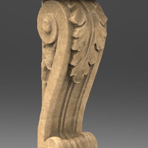 Télécharger fichier OBJ gratuit Modèle 3D du corbeau architectural décoratif 5 • Design pour imprimante 3D, DavidG7