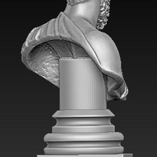 Roman_bust_04.jpg Download free OBJ file Roman Bust 3D Model • 3D print object, DavidG7