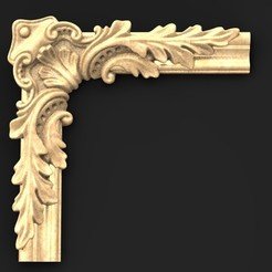 Download free 3D printing models Frame Relief 2 3D Model, DavidG7