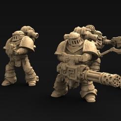 Attack_KEY.jpg Télécharger fichier STL gratuit Modèle 3d de l'équipe d'attaque robotique • Plan pour imprimante 3D, DavidG7