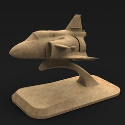 Download free 3D printing templates Airplane toy 3D Model, DavidG7