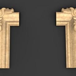 Frame_relief_01_KEY.jpg Download free OBJ file Frame Relief 3D Model • 3D printing model, DavidG7