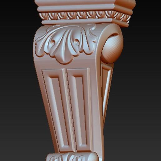 Kit-Architectural_09.jpg Download free STL file Pack Architectural Decorative Corbels 3D Model • 3D printable object, DavidG7