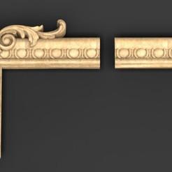 Frame_Relief_01_KEY.jpg Télécharger fichier OBJ gratuit Modèle 3D Frame Relief 5 • Plan imprimable en 3D, DavidG7