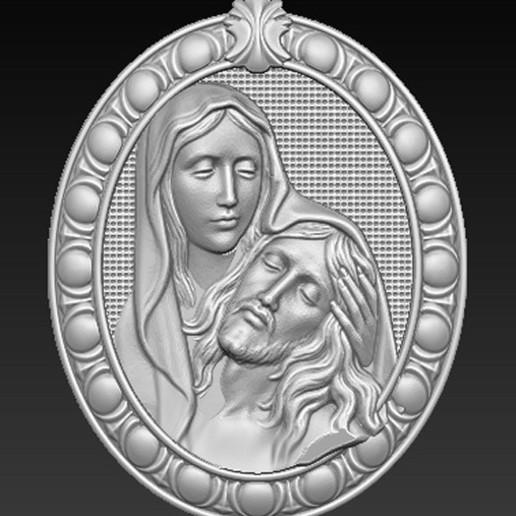 Maria_Christ_01.jpg Télécharger fichier OBJ gratuit Modèle 3D de Jésus-Christ Maria • Modèle pour imprimante 3D, DavidG7
