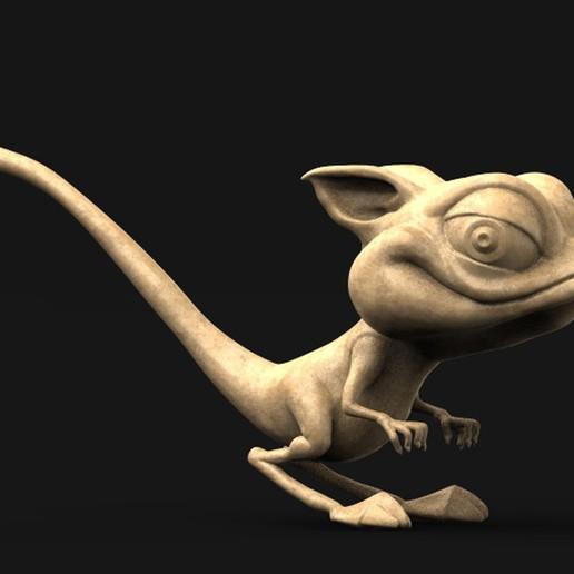 Cgaracter_01_KEY.jpg Download free OBJ file Character Kangaroo 3D Model • Object to 3D print, DavidG7