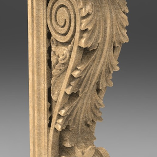Télécharger fichier OBJ gratuit Modèle 3D du corbeau architectural décoratif 6 • Design imprimable en 3D, DavidG7