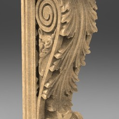 Download free 3D print files Architectural Decorative Corbel 6 3D Model, DavidG7
