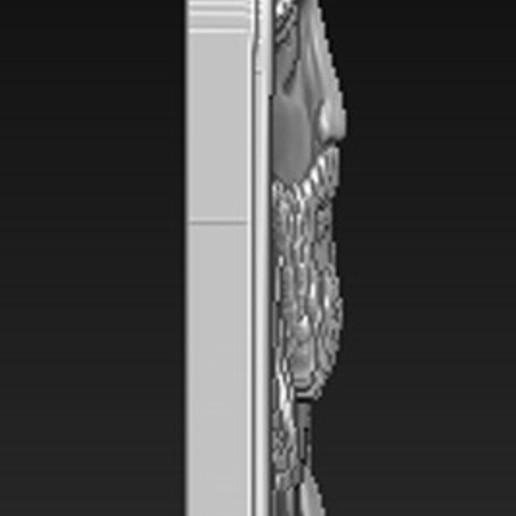 Face_of_Christ_03.jpg Télécharger fichier STL gratuit Visage du Christ 3D Relief • Modèle à imprimer en 3D, DavidG7