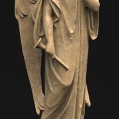 Angel_01_KEY.jpg Download free OBJ file Angels Statue 6 3D Model • 3D print template, DavidG7