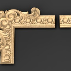 Download free 3D printing files Frame Relief 6 3D Model, DavidG7