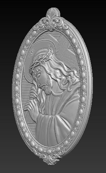 Christ_03.jpg Download free OBJ file Jesus Christ 3D Model • 3D print object, DavidG7