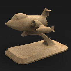 Download free 3D printing models Airplane toy 2 3D Model, DavidG7