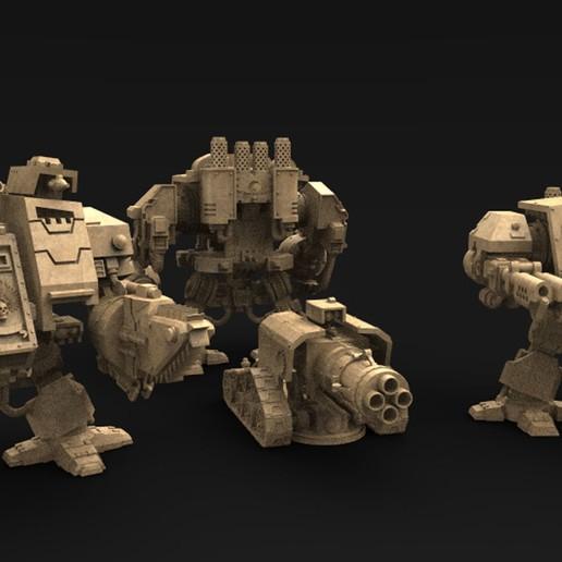 Télécharger fichier STL gratuit Modèle 3D robotisé de ligne de police forte • Objet imprimable en 3D, DavidG7
