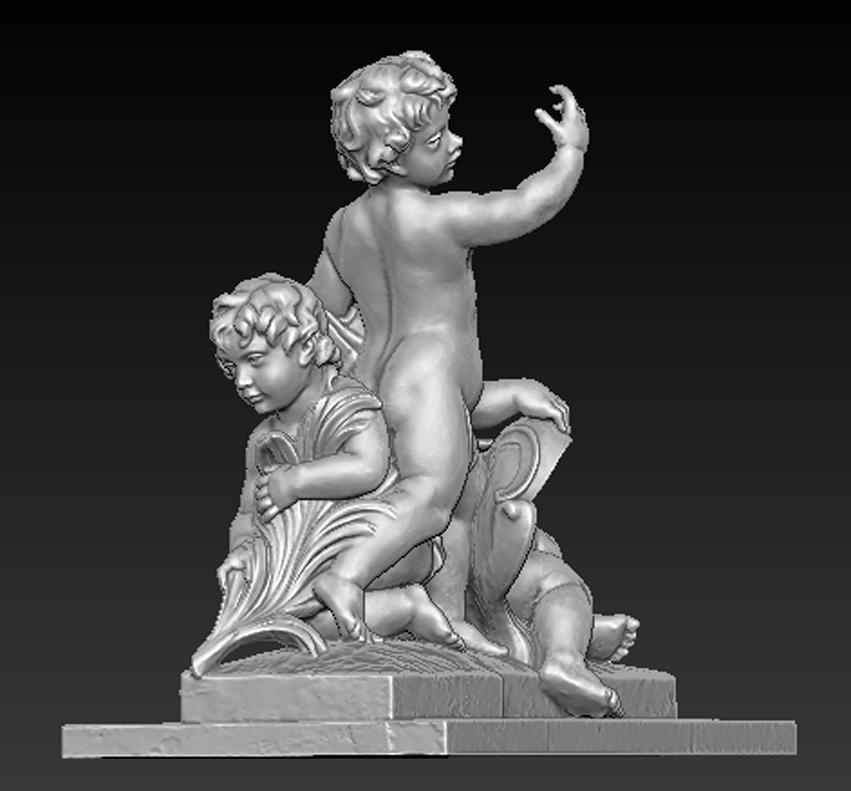 Angel_04.jpg Download free OBJ file Angels Statue 5 3D Model • Design to 3D print, DavidG7