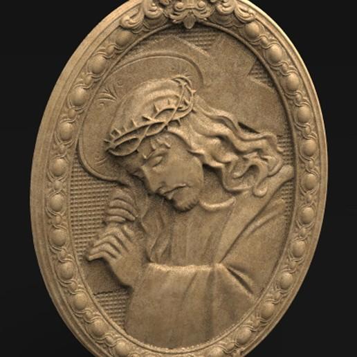 Christ_KEY.jpg Download free OBJ file Jesus Christ 3D Model • 3D print object, DavidG7