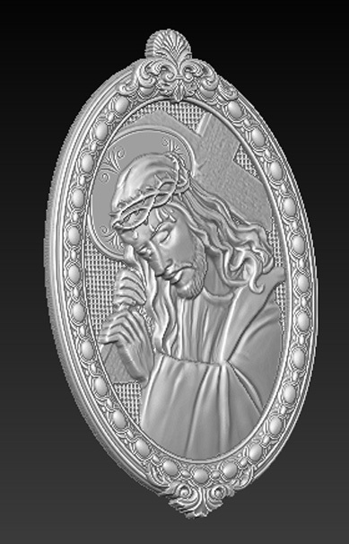 Christ_02.jpg Download free OBJ file Jesus Christ 3D Model • 3D print object, DavidG7