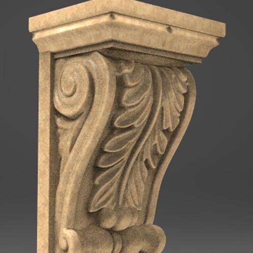 Architectural_Decorative_01_KEY.jpg Télécharger fichier OBJ gratuit Modèle 3D du corbeau architectural décoratif 8 • Plan pour impression 3D, DavidG7