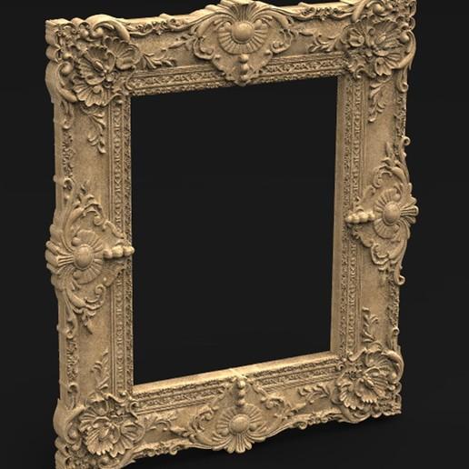 Télécharger fichier OBJ gratuit Modèle 3D Frame Relief 9 • Objet imprimable en 3D, DavidG7