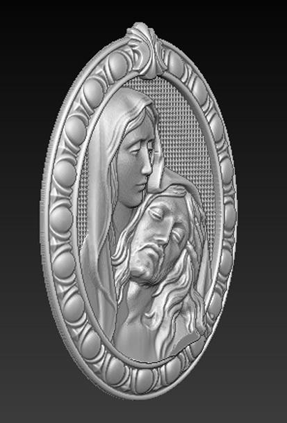 Maria_Christ_02.jpg Télécharger fichier OBJ gratuit Modèle 3D de Jésus-Christ Maria • Modèle pour imprimante 3D, DavidG7