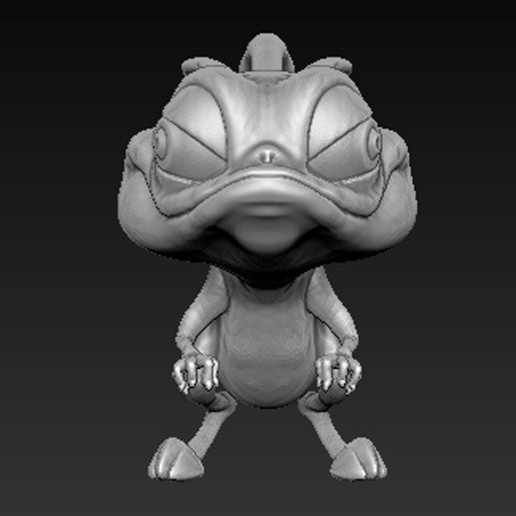 Cgaracter_03.jpg Download free OBJ file Character Kangaroo 3D Model • Object to 3D print, DavidG7