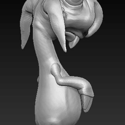 Character_05.jpg Download free OBJ file Character Rabbit 3D Model • 3D printing object, DavidG7