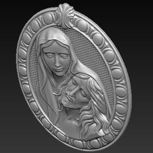 Maria_Christ_04.jpg Télécharger fichier OBJ gratuit Modèle 3D de Jésus-Christ Maria • Modèle pour imprimante 3D, DavidG7