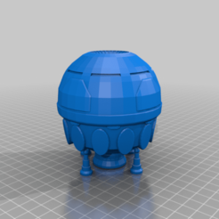 Lion_Mapscale.png Download free STL file King of the Jungle Class Dropship • 3D printable model, Southern_Mountain