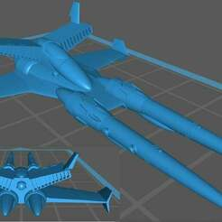 bb.jpg Download free STL file Ronin Aerospace Fighter • 3D print template, Southern_Mountain