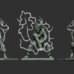kakashi.jpg Télécharger fichier STL figure de kakashi • Design à imprimer en 3D, gastonhoz