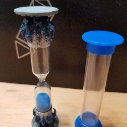 20191019_151131.jpg Download free STL file D&D Hourglass Holder • 3D printer object, BohunkG4mer