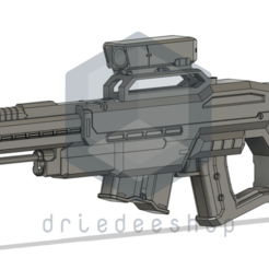 Knipsel3_Final.png Download STL file Rail Gun Sniper • Object to 3D print, DrieDeeShop