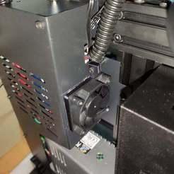 IMG_20200410_213446.jpg Download free STL file 50mm board fan mounter for u30pro/lk4pro • 3D printing object, lucajust93