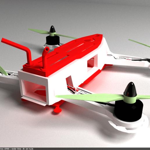 Download 3D-printer ontwerpt frame 260, raulgt72