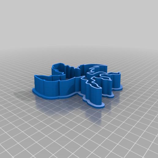 Download free 3D printing models Nirnroot cookie cutter, ghostgirl