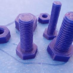 image1.png Download free STL file Screw plastic nut M6 M8 M10 • Design to 3D print, alainsame