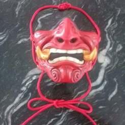 Télécharger fichier STL gratuit Remix de masque ONI • Modèle pour impression 3D, rostolaza