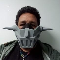 Mazinger Z004.jpg Download free STL file Mazinger Z Covid Mask (WIP) • 3D print design, rostolaza