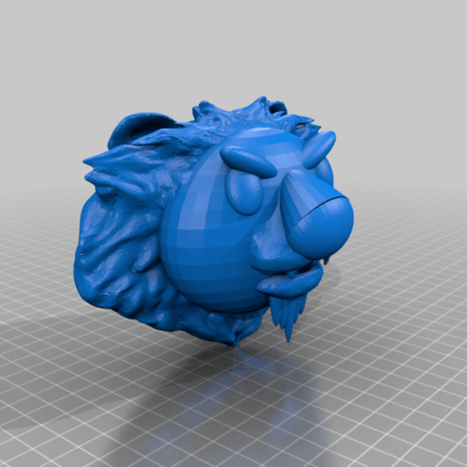 Toy_Lion.png Download free STL file Toy Lion • 3D print template, rostolaza