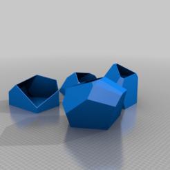 Download free STL file Voronoi Flower rescaled • 3D print template, rostolaza